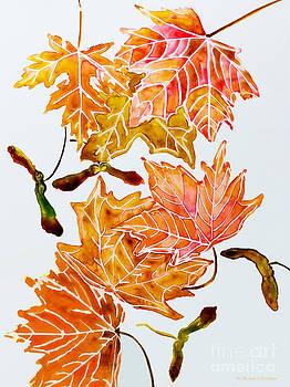 Barbara McMahon - Keys and Autumn Leaves