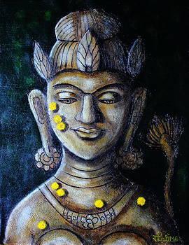 Khadiravani Tara-The Tara of the Acacia forest by Greeshma Manari