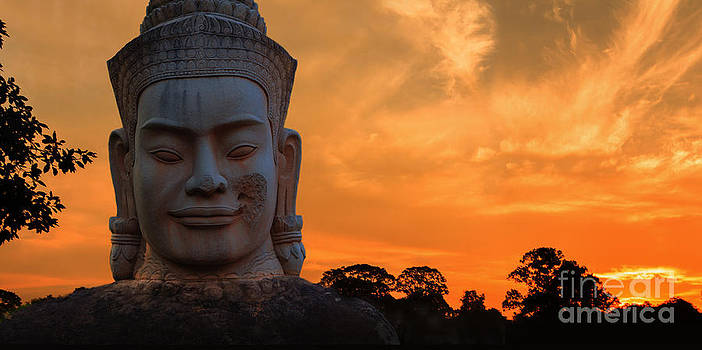 Khmer Sunrise by Pete Reynolds
