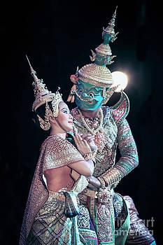 Khon Art by Phumiphat Thammawong