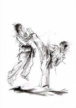 Kick. by Mariusz Szmerdt