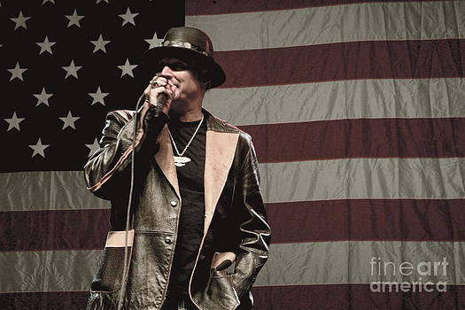 Kid Rock Print One by Christopher  Chouinard