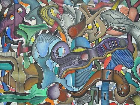 Kieko Alteration #3 by George Curington