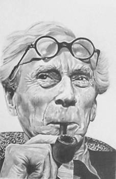Bertrand Russell by Mike OConnell
