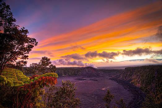 Kilauea Caldera Big Island HI HDR by Preston Broadfoot