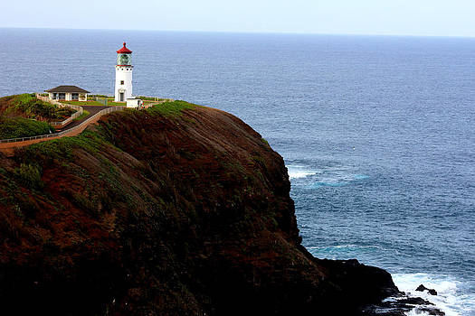 Kilauea Lighthouse by Sherry Hudson