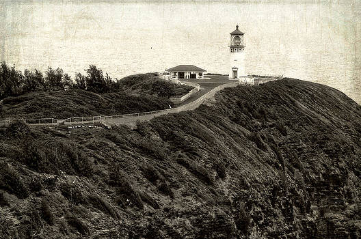 Kilauea Lighthouse Vintage Look and Feel by Photography  By Sai