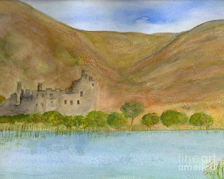 Kilchurn Castle by Nan Engen