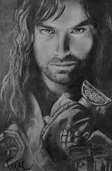 Kili from the Hobbit by Emily Maynard