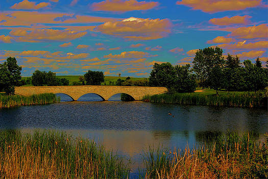 Kilkona Park Bridge by Larry Trupp