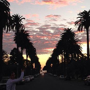 Killer #sunset For Our Evening Run W/ by Stacy C