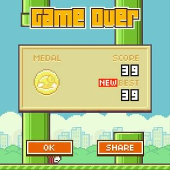 Killing The Time !! #flappybird #game by Orlando Gonzalez