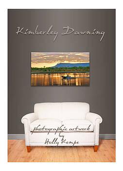 Holly Kempe - Kimberley Dawning Wall Art