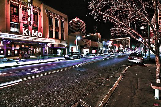 Kimo Theatre Albuquerque by Jose  Sandoval