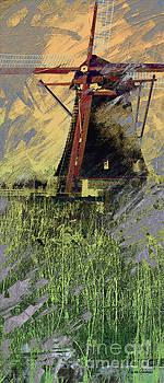 Kinderdijk 5c by Arie Van Garderen