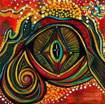 Kindness Spirit Eye by Deborha Kerr