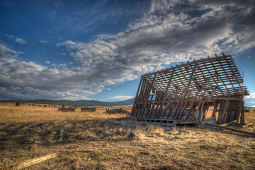 King Homestead Barn by Joe Hudspeth