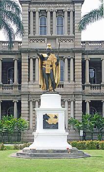 King Kamehameha by Al Blount