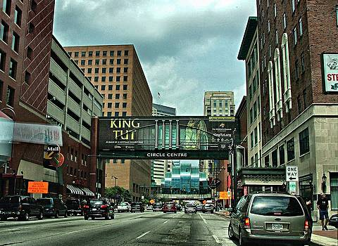 King Tut in Indy by Julie Dant
