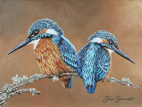 Jane Girardot - Kingfishers