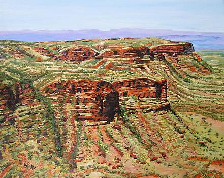 Kings Canyon by Leonie Bell