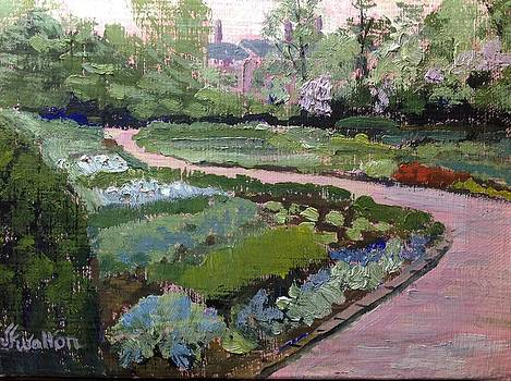 Kingwood Perennial Garden by Judy Fischer Walton