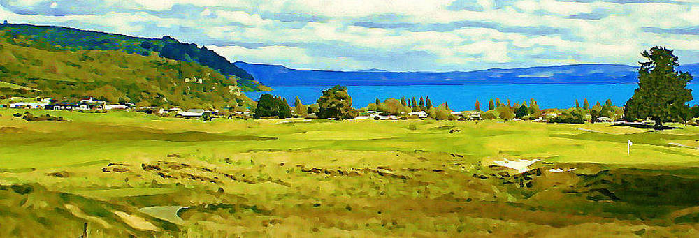 Kinloch at Lake Taupo by Stan Sutherland