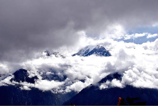 Kinner Kailash Hills- Himachal Pradesh- Viator's Agonism by Vijinder Singh