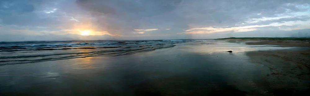 Kintra Sunset by Ian Gray