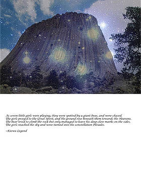 Kiowa Legend of Devils Tower by Jim Martin