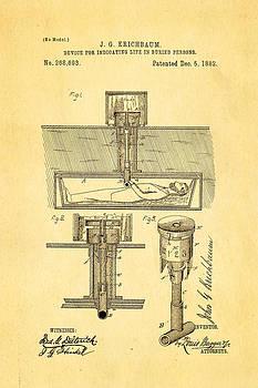 Ian Monk - Kirchbaum Burial Life Detector Patent Art 1882