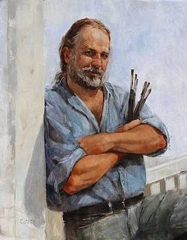 Kirk Larsen American Artist by Chris  Saper