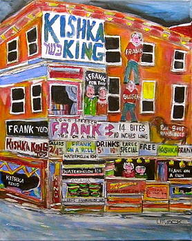 Kishka King on Pitkan by Michael Litvack