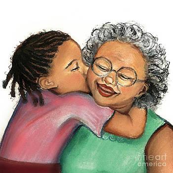 Kisses for Granny by Melanie Alcantara Correia