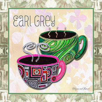 Kitchen Cuisine Earl Grey Tea Party by Romi and Megan by Megan Duncanson