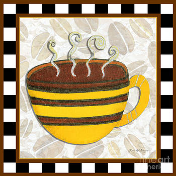 Kitchen Cuisine Hot Cuppa No14 by Romi and Megan by Megan Duncanson