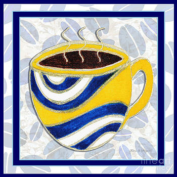 Kitchen Cuisine Hot Cuppa No76 V2 by Romi and Megan by Megan Duncanson