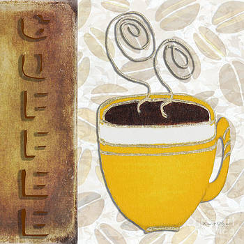 Kitchen Cuisine Hot Cuppa No87 V4 by Romi and Megan by Megan Duncanson