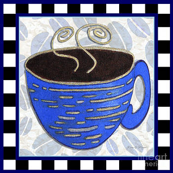 Kitchen Cuisine Hot Cuppa No89 by Romi and Megan by Megan Duncanson