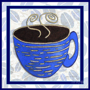 Kitchen Cuisine Hot Cuppa No89 V2 by Romi and Megan by Megan Duncanson