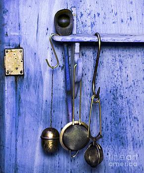 Kitchen Equipment blue - Vintage by Silva Wischeropp