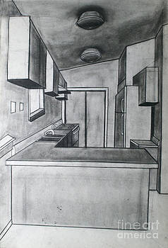 Kitchen Perspective by Cecilia Stevens
