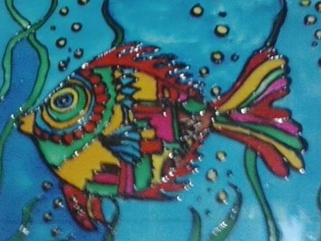 Kite fish by Meghna Suvarna