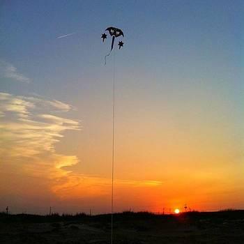 Kite In The Sunset by Brett Geyer