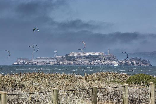 Chuck Kuhn - Kite Surfing Alcatraz