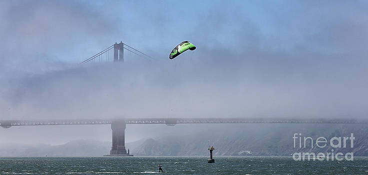 Chuck Kuhn - Kite Surfing Golden Gate