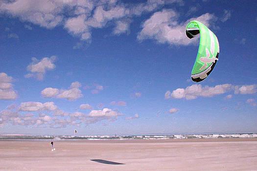 Kitesurfer by Bob Richter
