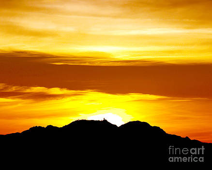Douglas Taylor - KITT PEAK - WINTER SOLSTICE SUNSET II