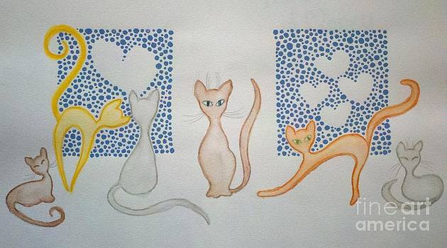 Kitteh Cats by Liz Rosales