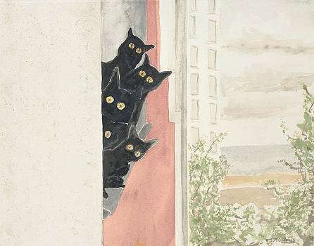 Kittens by Jean Moule
